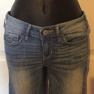 Hollister women's Distressed Jeans Sz 0R 24/33